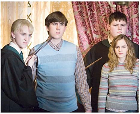 Tom Felton 8x10 Photo Emma Watson Harry Potter With Other Students At Amazon S Entertainment Collectibles Store