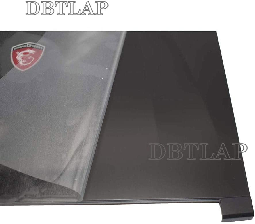 DBTLAP Laptop Parts LCD Rear Back Cover Screen Lid Top Case 3076J1A212Y311 Compatible for Msi GE62