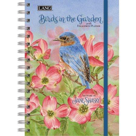 "Lang 2018 Spiral Engagement Planner - ""Birds In The Garde..."