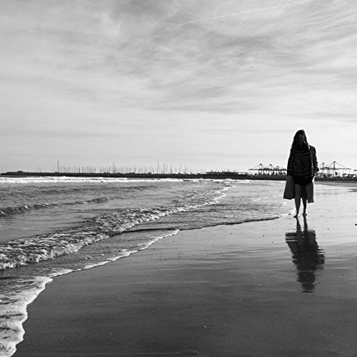 Black And White Beach Photography, Beach Art, Beach Photography, Beach Wall Art, Photography, Beach Decor, Beach Print, Valencia, Spain by Amadeus Long