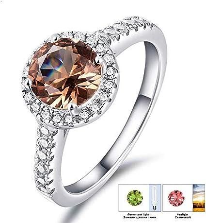 Details about  /Royal Zultanite Ring-Zultanite Colors Changing Ring-Women Zultanite Ring