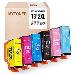 EPSON 312 312XL INK PACK T312 R312XL INK BLACK EPSON XP8500 XP-8500 PRINTER INK
