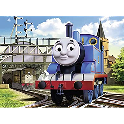 Ravensburger Thomas And Friends 4 In Box Puzzles: Toys & Games