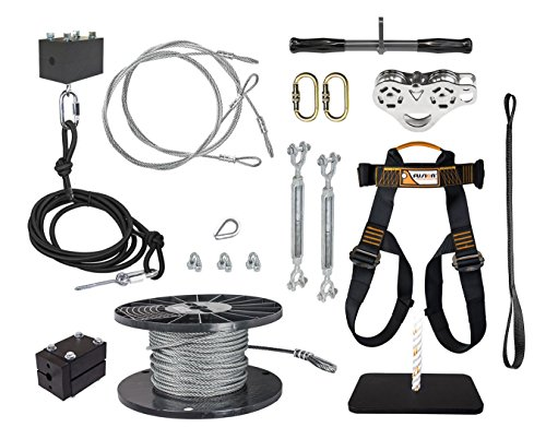 ZLP Manufacturing 150 FT to 500 FT Ultimate Torpedo Zip Line Kit - 5/16