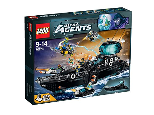 Lego Ultra-agent Ultra agent Ocean Headquarters 70173 by LEGO