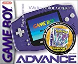 Game Boy Advance Includes Pokemon Crystal