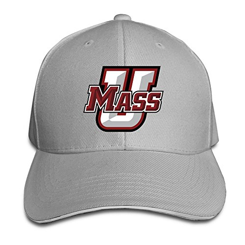 BOoottty University Of Massachusetts Amherst UMass Minutemen Flex Baseball Cap Ash (Minutemen Golf)