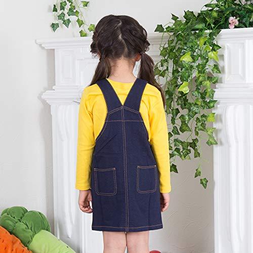 a9986bfd6fd1b ミニオンズ風 ハロウィン 衣装 子供 ベビー キッズ 子供服 ベビー服 コスプレ 仮装 2点セット 長袖