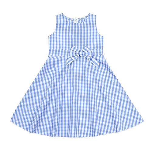 Dress for Mother and Daughter Tiles Dresses Short Vintage Holiday Family Clothing Costumes Photography -