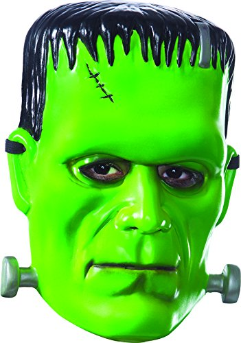 Rubie's Men's Universal Monsters Frankenstein Vacuform Adult Mask, As Shown, One Size -