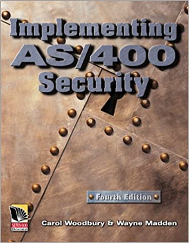 Book Implementing AS/400 Security, 4th Edition