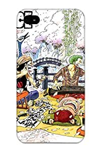 Inthebeauty High-quality Durability Case For Iphone 4/4s(Anime One Piece)