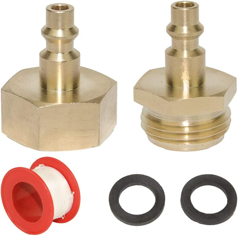 RV Blowout Adapter Kit For Winterizing RV Boat Camper Trailer