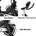 Cyclette-Spin-Bike-Bicicletta-Da-Spinning-Nera-Esecuzione-Di-Allenamento-Allenatore-Cardio-Uso-Domestico-Istruttore-Di-Fitness-Bike-Al-Coperto-Bike-Stepper-Color-Black-Size-10757120cm