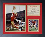 Legends Never Die Dwight Clark The Catch Framed Photo Collage, 11 x 14-Inch