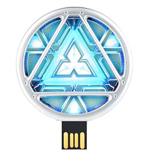 Quace Super Hero Arc Reactor 32  GB USB Pen Drive with inbuilt LED
