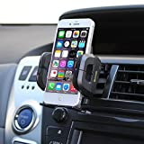 iKross Air Vent Car Vehicle Mount Holder for iPhone 6 / 6 Plus / 5 / 5S, Samsung Galaxy S5, Galaxy Note 3, Galaxy... by iKross