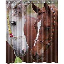 3d Horse Shower Curtain