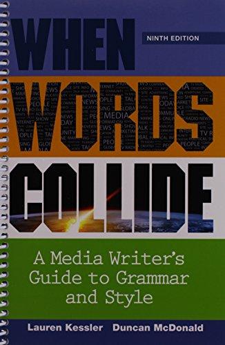 Bundle: When Words Collide, 9th + Student Workbook