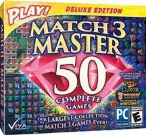 Encore 37050 play match 3 master new pc puzzle matching game.