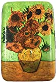 RFID Secure Armored Wallet - Fine Art 1, Sunflower
