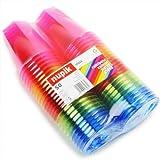 drinkstuff-A79-92C-E66-Pack-de-50-vasos-desechables-250-ml-varios-colores