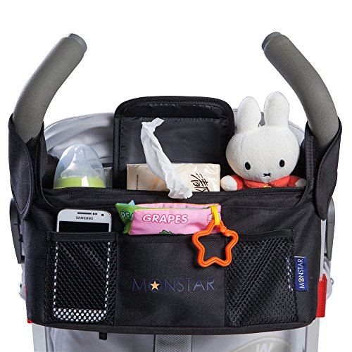 MONSTAR Stroller Organizer & Bottle and Diaper Bag - Univers