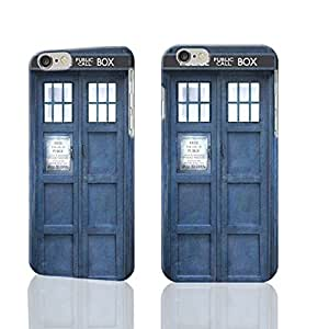 """Doctor Who Tardis 3D Rough iphone Plus 6 -5.5 inches Case Skin, fashion design image custom iPhone 6 Plus - 5.5 inches , durable iphone 6 hard 3D case cover for iphone 6 (5.5""""), Case New Design By Codystore"""
