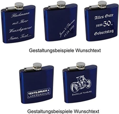 Sehr schönes Flachmann Edelstahl-Set