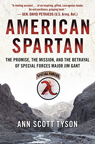 American Book Great Afghan (American Spartan: The Promise, the Mission, and the Betrayal of Special Forces Major Jim Gant)