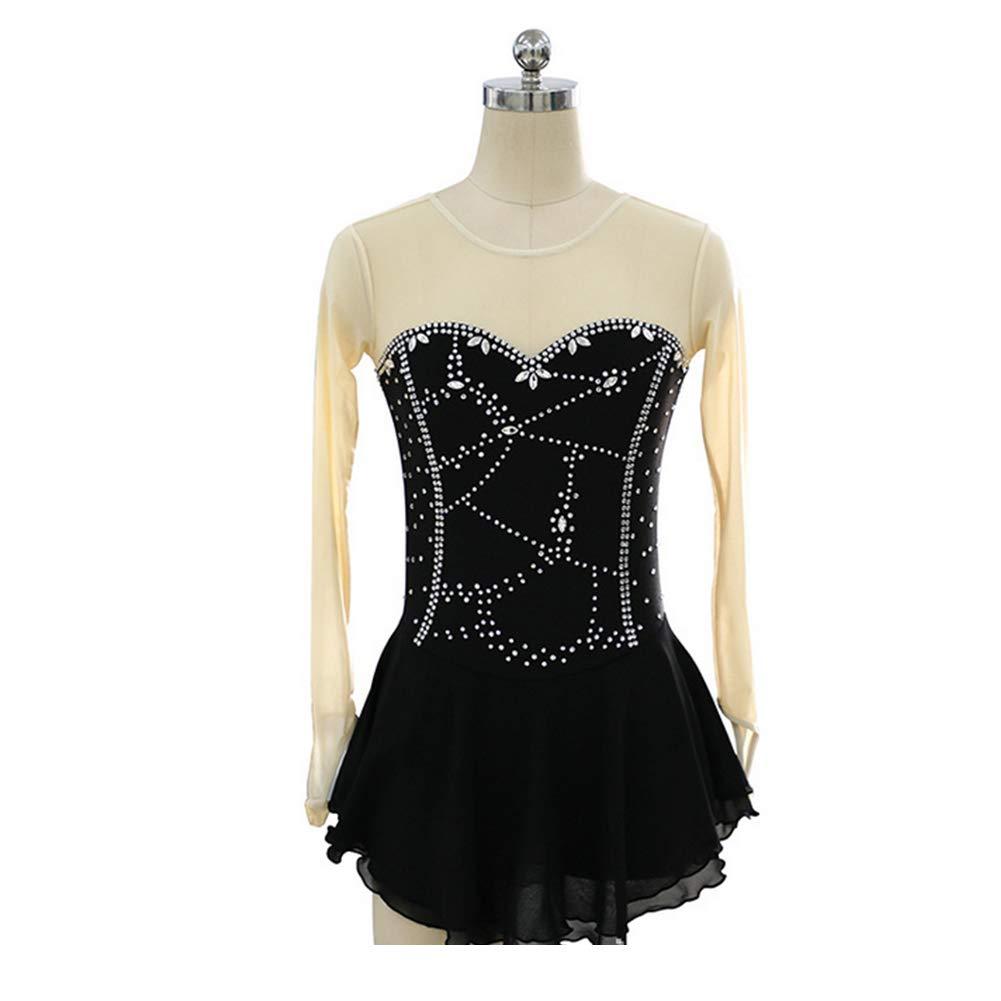 独特な X-Small B07MN9WFXVフィギュアスケート女の子のためのドレス女性スケート競争のパフォーマンスのコスチュームダンスコスチュームドレスプロフェッショナルストレッチ通気性 B07MN9WFXV X-Small, 人形の丸富:537eded5 --- arianechie.dominiotemporario.com