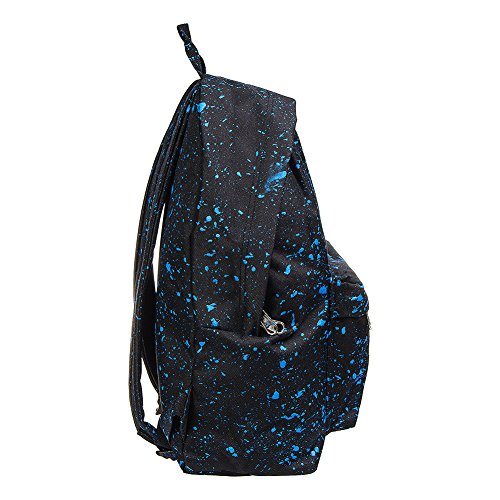única hombre Bolso Hype Splatter Hype Poliéster de bag Black para Splash Blue talla Just hombro al Avgq7A