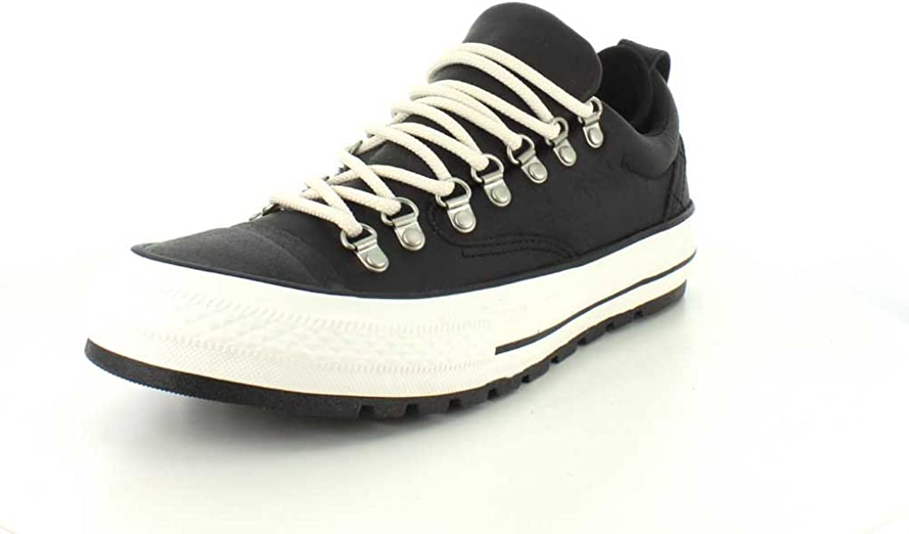 3caeff41b9b5cb Converse Unisex Chuck Taylor All Star Descent Low Top Black Egret Sneaker -  7 Men