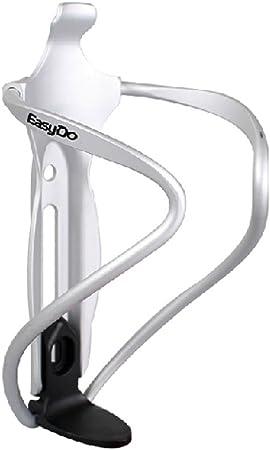 Easydo Bike Aluminium Alloy Water Bottle Cage Adjustable Bottle Holder Sliver