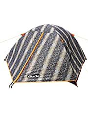 NARMAY Snakeskin Camping Backpaking Two Person Dome Tent - 7.2×5×3.6 ft