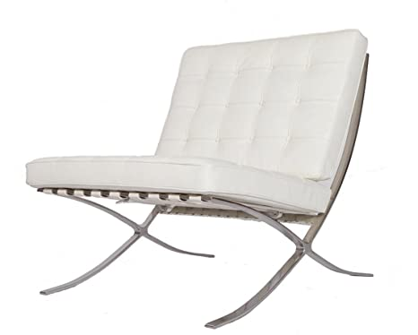 Amazon.com: eMod - Modern Pavilion Barcelona Chair Italian ...
