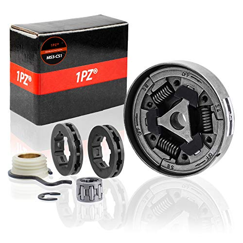 (1PZ MS3-CS1 3/8 Clutch Sprocket Kit Worm Gear Bearing for Stihl MS361 044 046 MS440)