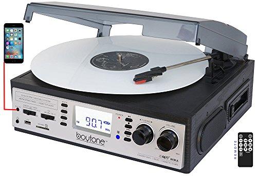 Boytone BT-19DJS-C 3-speed Turntable, 2 Built in Speakers La