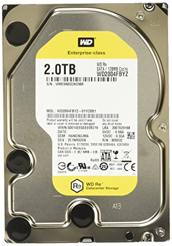 WD Re 2TB Internal SATA Hard Drive WD2004FBYZSP