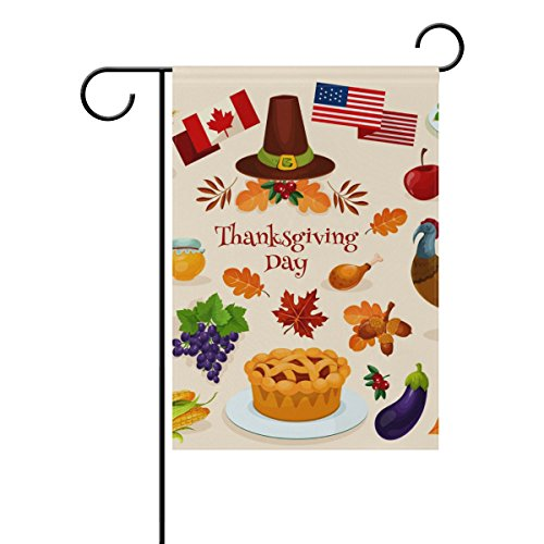 ColourLife Thanksgiving Day Symbols Seasonal Holiday Garden