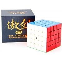 cuberspeed Moyu Aochuang GTS M 5X5 stickerless Magic Cube Moyu Aochuang gts 5x5x5 Magnetic stickerless Speed Cube