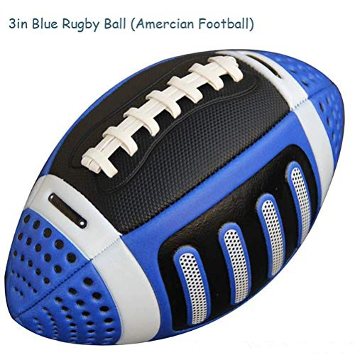 mrGood Size 3 Rugby Ball American Rugby Ball American Football Ball Kid Children Sport Match Standard Training US Rugby Street Football