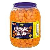 Utz Baked Cheese Balls 28oz / 1lb 12oz Party Size Barrel