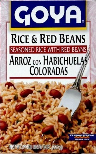 Goya Rice and Red Beans 8 Oz (Pack of (Goya Beans Rice)