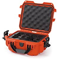 Nanuk 905 Waterproof Hard Drone Case with Custom Foam Insert for DJI Spark – Orange