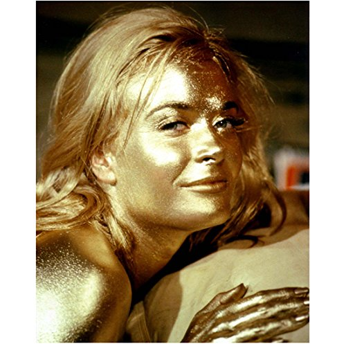 Shirley Eaton 8 inch x 10 inch Photograph Goldfinger Ten Little Indians Carry On Nurse Painted Gold Lifting Head Off Pillow kn (Best Indian Actress Pics)