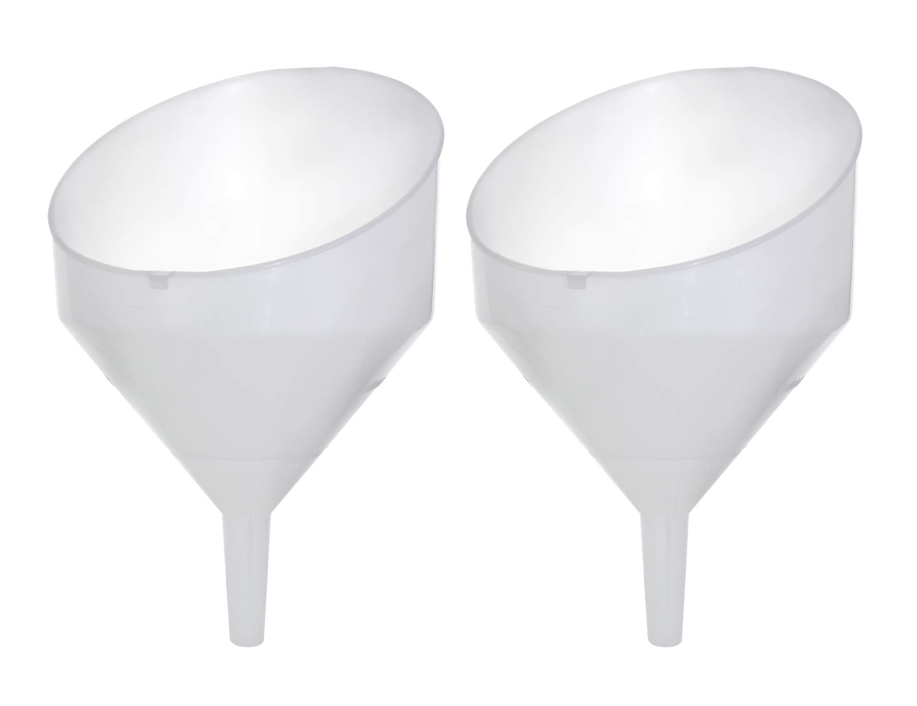 9'' Anti-Splash Funnel with Strainer Set Of 2 by BSG