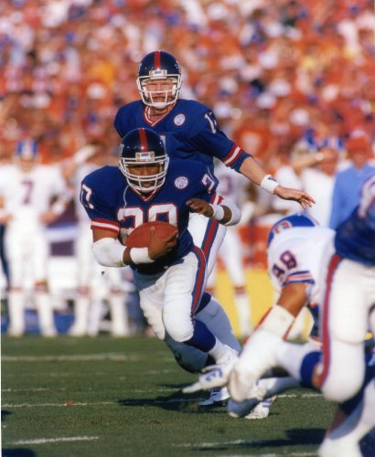 JOE MORRIS NEW YORK GIANTS 8X10 SPORTS ACTION PHOTO (G) ()