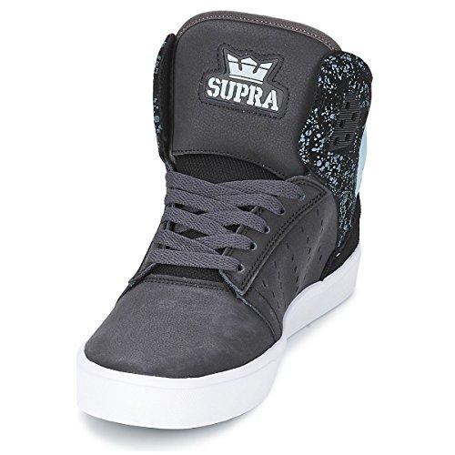 Light Supra Top Sneakers Adults' Unisex Blue Hi Splatter Black White Atom wIrwUxq8