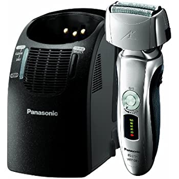 Panasonic ES-LT71-S, Arc3 Electric Razor, Men's 3-Blade Cordless with Wet/Dry Convenience, Automatic Premium Clean & Charge Station Included